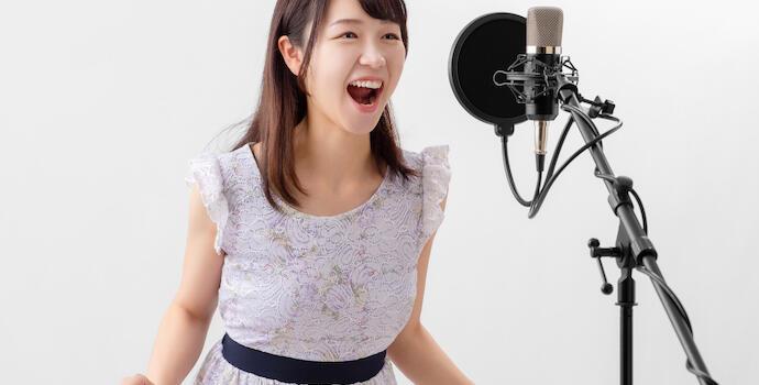 高品質「歌ってみた」動画撮影プランの提供を開始しました。